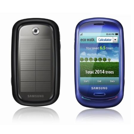 Samsung Blue Earth, teléfono móvil táctil y solar