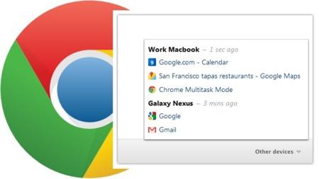Chrome incorporará la sincronización de pestañas en su versión beta