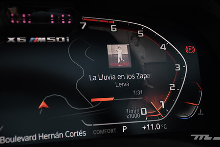 Bmw X6 M50i 2021 Opiniones Prueba Mexico 20