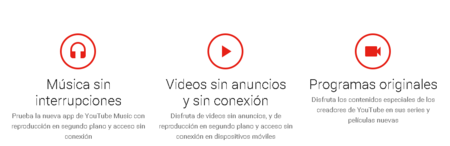 Youtube Red Caracteristicas