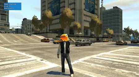 Flappy Bird en GTA IV