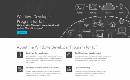 Microsoft lanza su programa de desarrolladores para el internet de las cosas