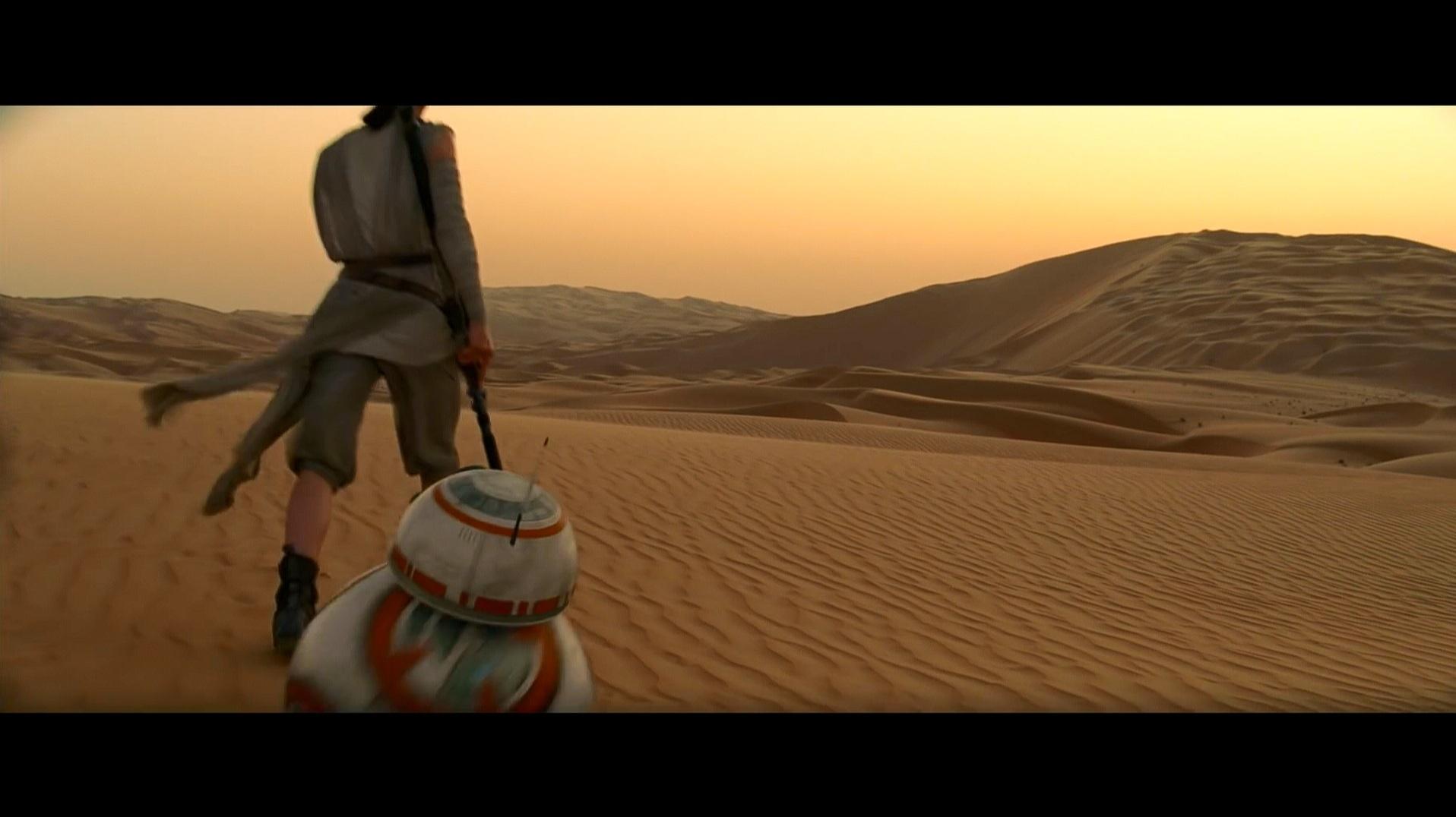 Star-wars trailer comparativa Blu-ray-YouTube