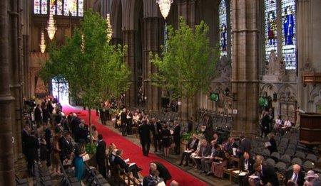 Abadía roja Boda del Príncipe Guillermo de Inglaterra y Kate Middleton