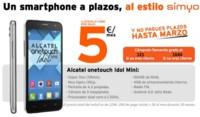 Simyo comienza a vender móviles libres a plazos sin permanencia