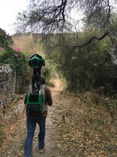 Google Street View Parque Nacional El Chico