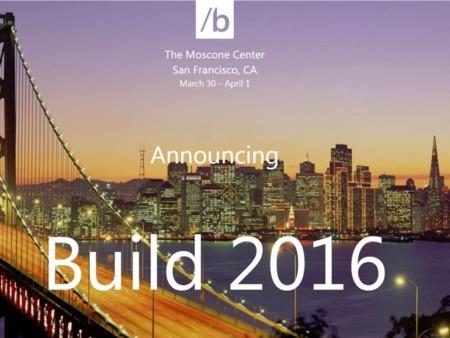 Microsoft confirma que la Build 2016 será del 30 de marzo al 1 de abril