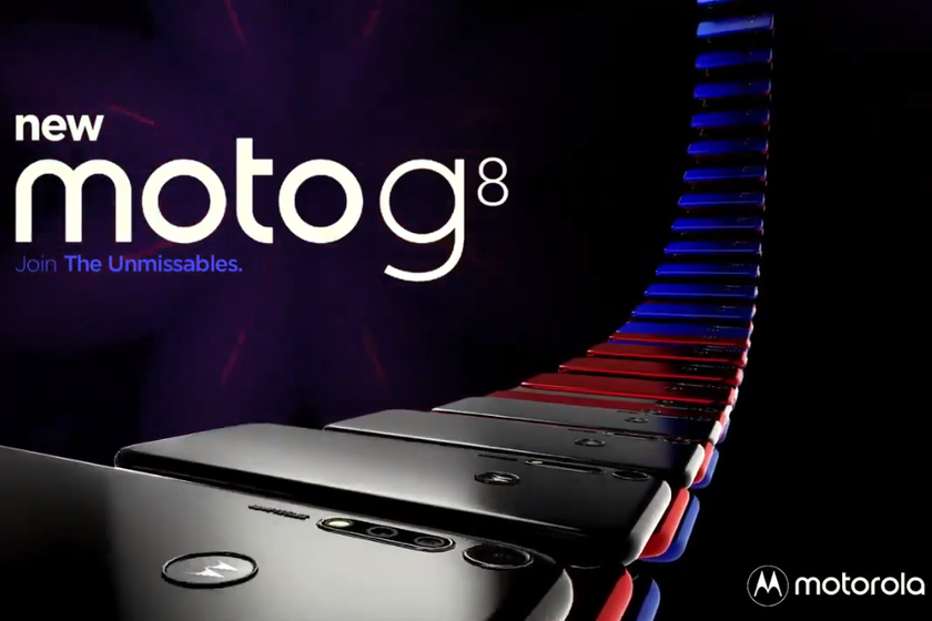 The Moto g-8 filters in a video, revealing its design and a rear camera 48 megapixel