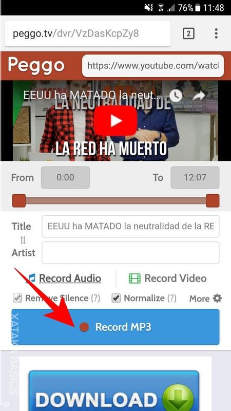 Record Mp3