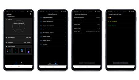 Nubia Alpha App Menu