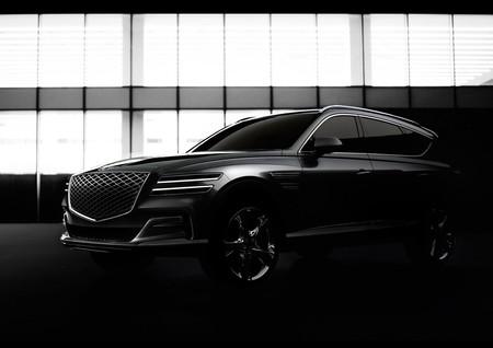 Genesis, la marca premium de Hyundai presenta las primeras imágenes de su nuevo SUV