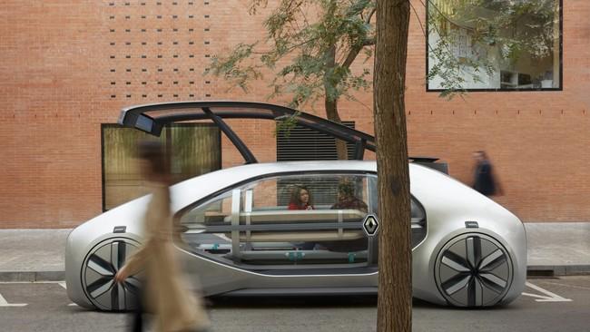 Renault EZ-GO: un concepto de coche compartido, eléctrico y autónomo para el transporte en ciudades