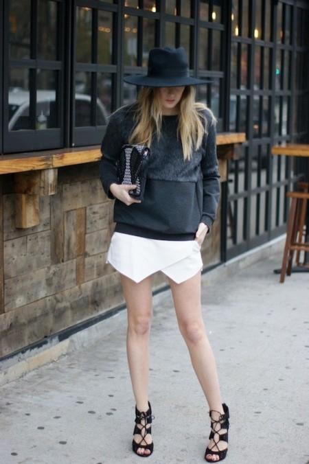 ¿La blogger-prenda estrella de la temporada? La falda-pantalón de Zara. ¡Arrasa en el mundo entero!
