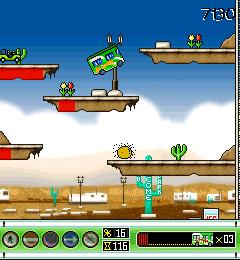 RV Pile-UP, juego gratuito de Blackberry