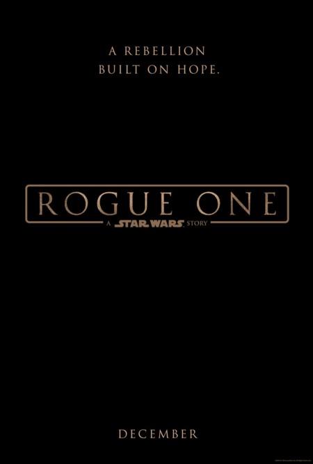 El teaser póster de Rogue One