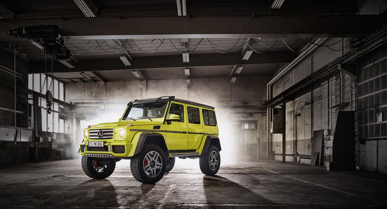 Foto de Mercedes-Benz G 500 4x4², toma de contacto (15/127)