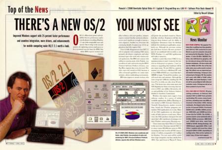 OS/2: así era el S.O. con el que IBM quería dominar el mundo