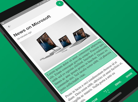 Microsoft Clip Layer, su herramienta para seleccionar y copiar cualquier texto que muestre la pantalla