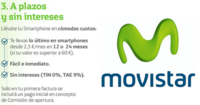 Movistar también cobrará una comisión de apertura en la venta a plazos de sus móviles