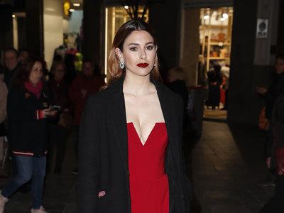 Blanca Suárez muy sexy y de rojo pasión en los Premios Fotogramas