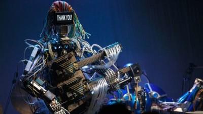[Vídeo] Disco interpretado totalmente por una banda de robots