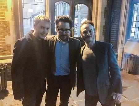 El fan con Abrams y Terrio