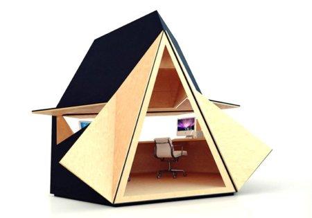 Tetra Shed, la oficina prefabricada