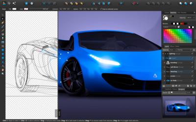 Affinity Designer, una actualización que demuestra porqué es claro rival de Adobe Illustrator