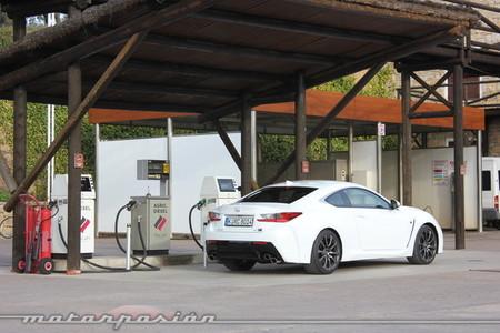 Lexus RC F - prueba - toma de contacto Ascari