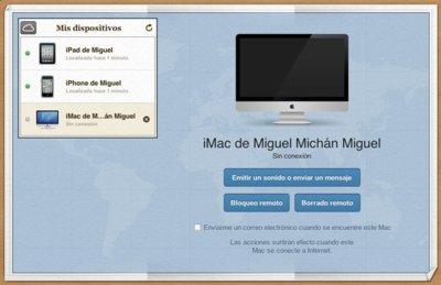 Buscar mi Mac ya disponible en iCloud, primeras imágenes de la integración con iWork