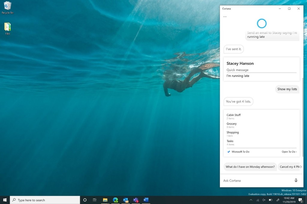 Cortana no tendrá secretos: estos son los pasos para descargar los datos que el asistente de Microsoft ha recopilado sobre ti