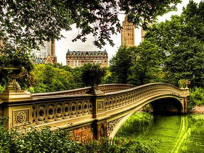 Bow Bridge, el puente mas romántico de Nueva York