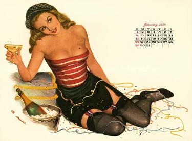 ¡Alerta tendencia vintage! No tires los calendarios viejos, en unos años podrás reutilizarlos