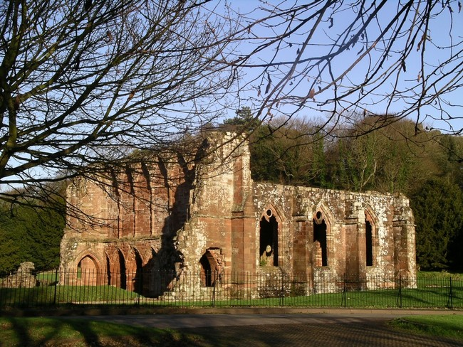 Furness Abbey Cumbria Uk