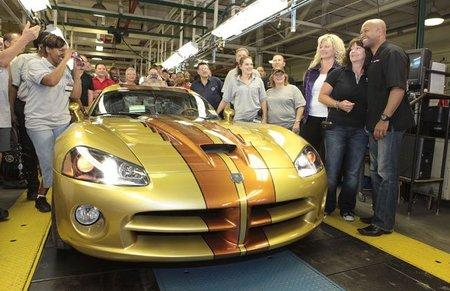 El último Dodge Viper personalizado ha salido de fábrica