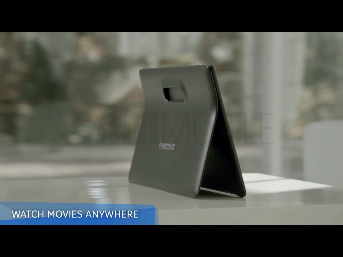 Poco espacio para la sorpresa con la tablet gigante de Samsung: Galaxy View en imágenes