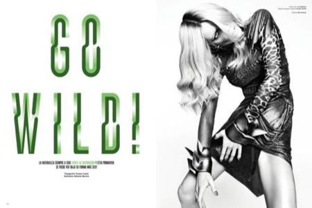 Kirsten Dunst y Masha Novoselova las protagonistas del nuevo número de la revista V I