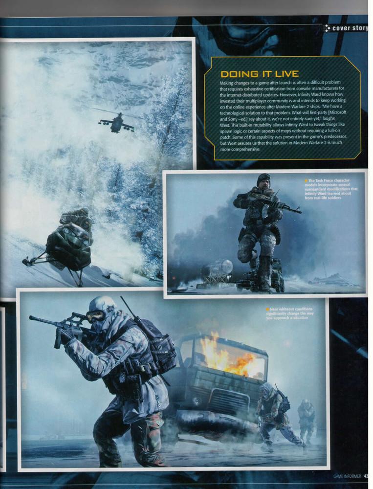 Foto de 'Modern Warfare 2' Scans Game Informer (8/10)