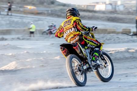 Suzuki Grau Flat Track Madrid