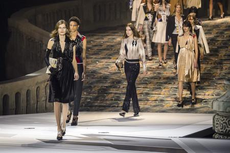 Louis Vuitton presenta su colección Otoño-Invierno 2018/2019 para cerrar la Semana de la Moda