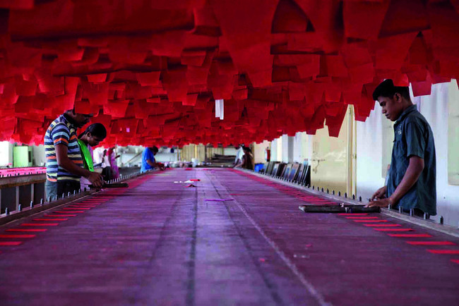 India Textile Fashion Industry Workers