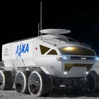 Toyota 'Space Mobility concept', o cuando en Japón sueñan con ir a la Luna en un vehículo de hidrógeno