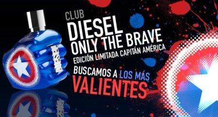 ¿Quieres una edición especial de Only the Brave by DIESEL del Capitán América?, entra en nuestro Club