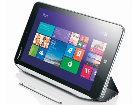 Lenovo Miix2, la marca china también tiene un tablet de ocho pulgadas con Windows 8.1