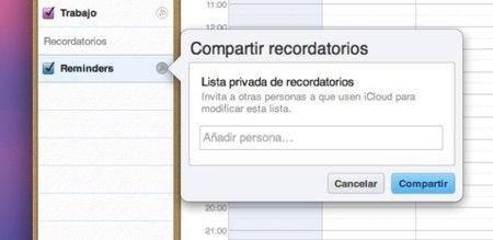 Cómo compartir los recordatorios de tu iPhone con otras personas