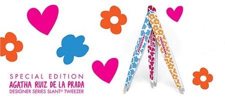 Agatha Ruiz de la Prada también nos diseña unas pinzas