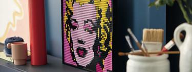 Los nuevos sets LEGO® Art, nos permiten crear nuestras propias obras decorativas estilo Pop-Art