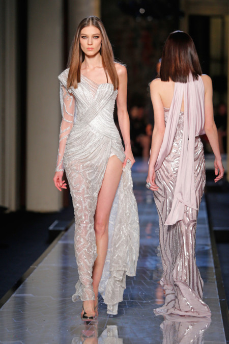 Mono Versace Alta Costura Verano 2014