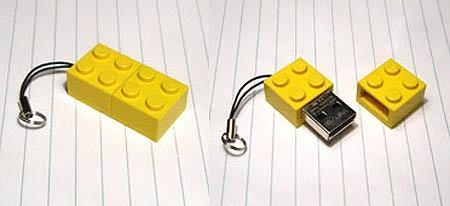 Zip Zip, Lego memoria USB