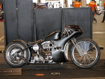 Harley Davidson Hot Rod por Nihiru Custom Psycle